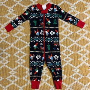 Hanna Andersson // Christmas Elf Pajamas 6-12 M